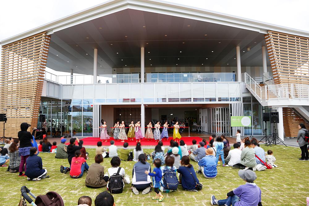 甲賀市まちづくり活動センター「まるーむ(MAROOM)」オープニングイベントの様子